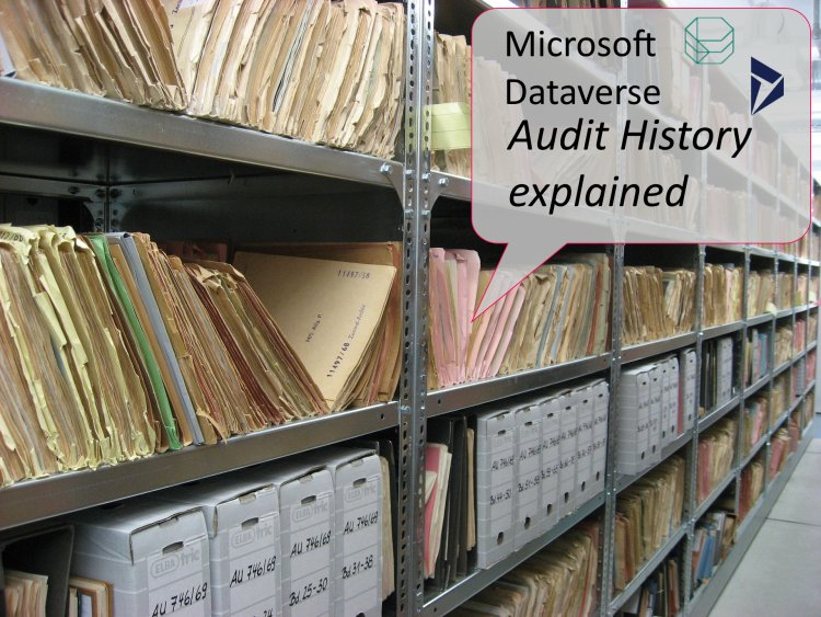 Dynamics 365 audit explanation